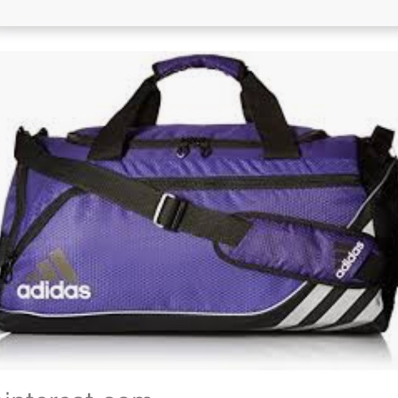 d8a9b8cf30 Adidas Team Speed Duffel Bag Small Purple Soccer